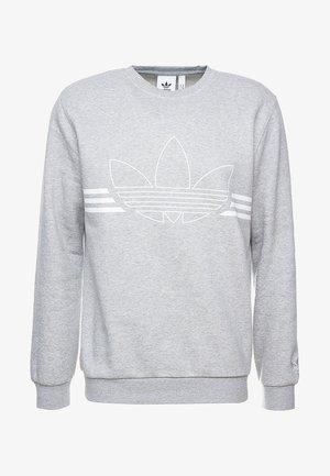 OUTLINE PULLOVER - Sweatshirt - medium grey heather