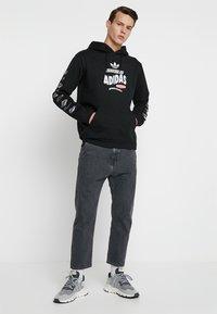 adidas Originals - BODEGA HOODIE - Hoodie - black - 1