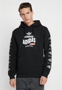 adidas Originals - BODEGA HOODIE - Hoodie - black - 0
