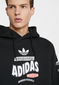 adidas Originals - BODEGA HOODIE - Hoodie - black - 3