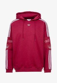 adidas Originals - HOODY - Bluza z kapturem - mystery ruby - 7