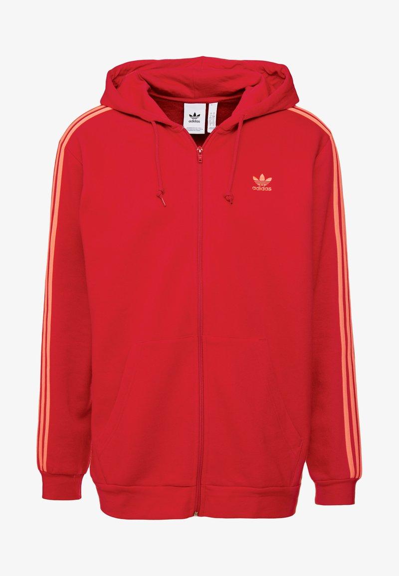 Adidas Scarlet Zippée En Originals Sweat 3 stripesVeste tdCxshrQ