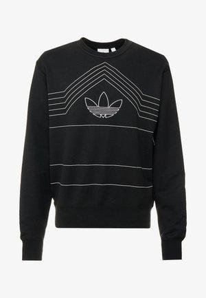 RIVALRY CREW - Sweater - black/white