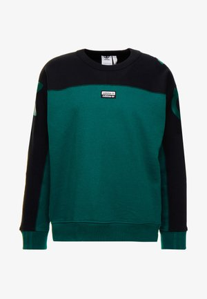 REVEAL YOUR VOICE A CREW - Sweatshirt - collegiate green
