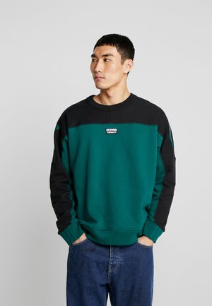 REVEAL YOUR VOICE A CREW - Sudadera - collegiate green