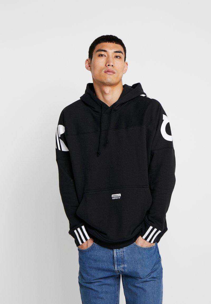 adidas Originals - REVEAL YOUR VOICE HOODY - Kapuzenpullover - black