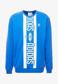 adidas Originals - PRINT SCARFCREW GRAPHIC PULLOVER - Sweatshirts - blue - 4
