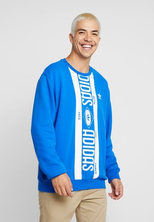 PRINT SCARFCREW GRAPHIC PULLOVER - Mikina - blue