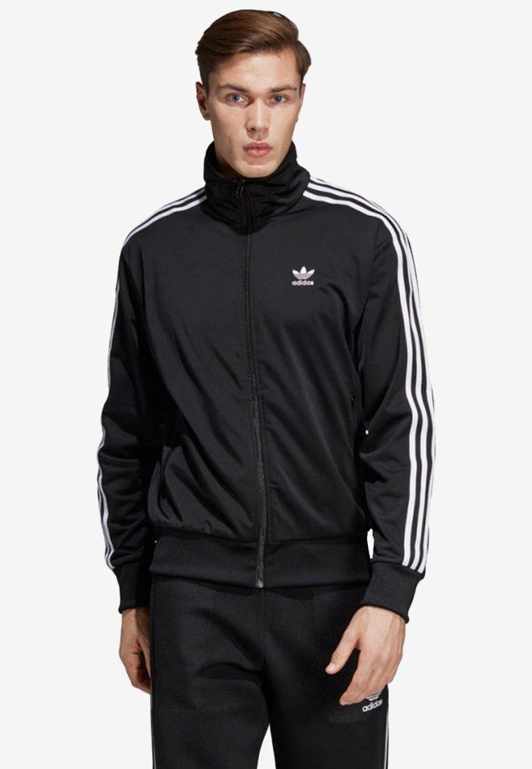 Adidas Firebird TopVeste En Sweat Track Black Zippée Originals uTFc5Kl1J3