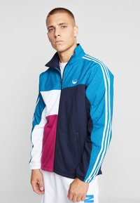 adidas Originals - FULL ZIP - Chaqueta de entrenamiento - active teal/berry - 0
