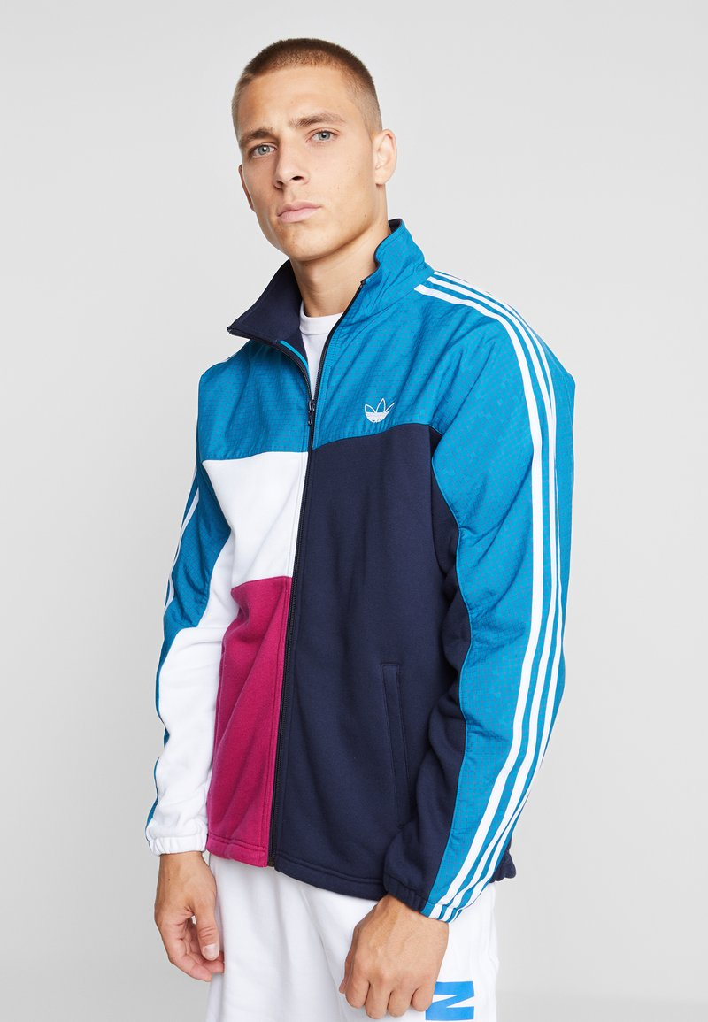 adidas Originals - FULL ZIP - Chaqueta de entrenamiento - active teal/berry