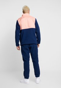 adidas Originals - WINTERIZED HALF-ZIP TOP - Fleecetrøjer - coll navy/chalk coral /ref silver - 2