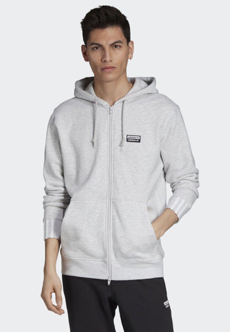 adidas Originals - FULL-ZIP HOODIE - Sweatjacke - grey