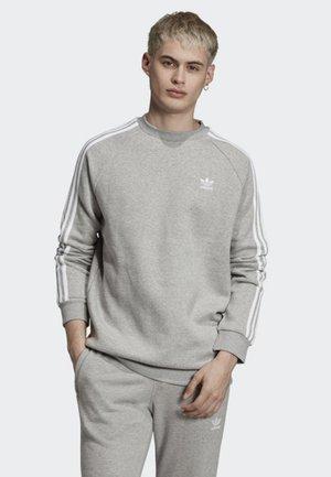 3-STRIPES CREWNECK SWEATSHIRT - Sweatshirt - grey