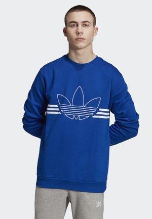 OUTLINE CREWNECK SWEATSHIRT - Sweater - blue