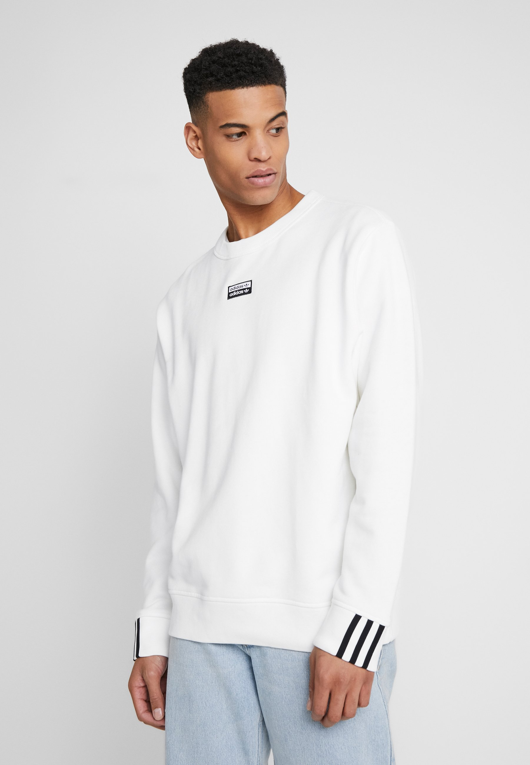 adidas Originals CREW - Bluza - core white