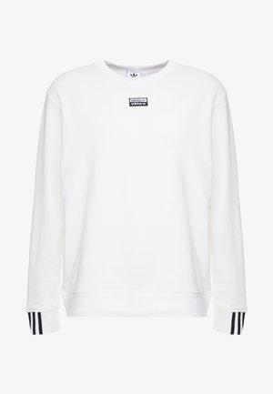 CREW - Sweatshirt - core white