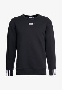 adidas Originals - R.Y.V. CREW LONG SLEEVE PULLOVER - Mikina - black - 5