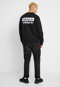 adidas Originals - R.Y.V. CREW LONG SLEEVE PULLOVER - Mikina - black - 2
