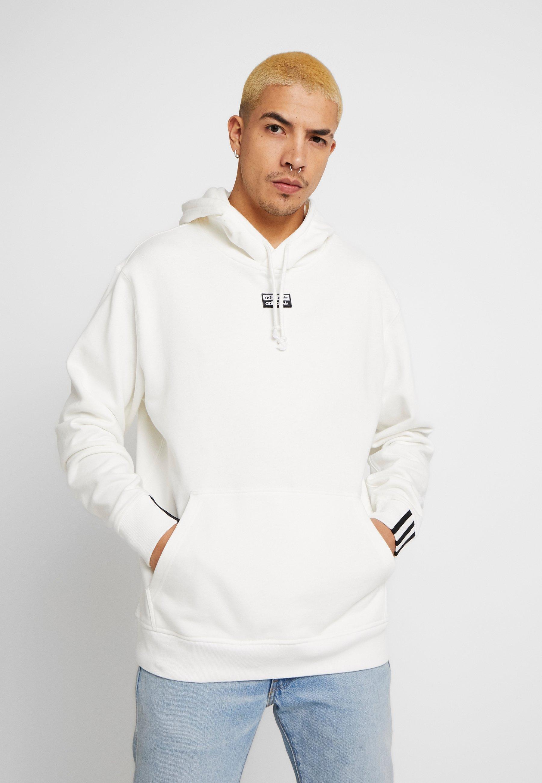 adidas Originals R.Y.V. MODERN SNEAKERHEAD HODDIE SWEAT - Bluza z kapturem - core white