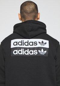 adidas Originals - R.Y.V. MODERN SNEAKERHEAD HODDIE SWEAT - Huppari - black - 5