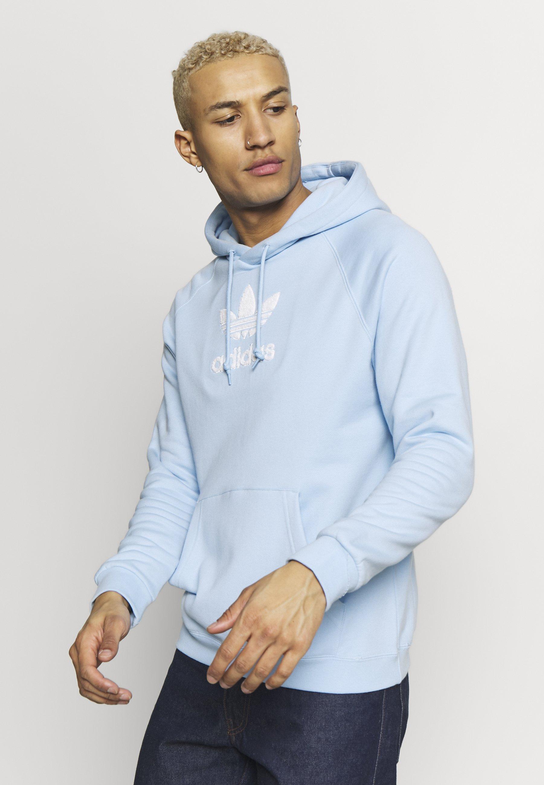 adidas Originals ADICOLOR PREMIUM TREFOIL HODDIE SWEAT - Bluza z kapturem - clesky