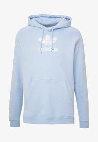 adidas Originals - ADICOLOR PREMIUM TREFOIL HODDIE SWEAT - Bluza z kapturem - clesky - 4