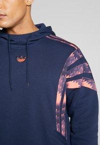 adidas Originals - FOOTBALL HOODIE - Sweat à capuche - blue - 5