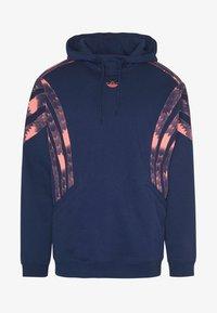 adidas Originals - FOOTBALL HOODIE - Sweat à capuche - blue - 4
