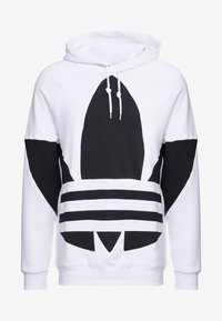 adidas Originals - ADICOLOR TREFOIL ORIGINALS HODDIE SWEAT - Bluza z kapturem - white - 4