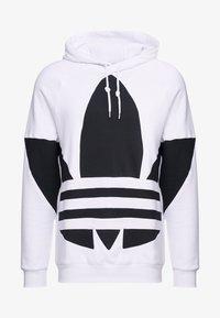 adidas Originals - ADICOLOR TREFOIL ORIGINALS HODDIE SWEAT - Felpa con cappuccio - white - 4