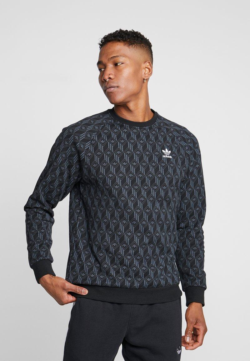 adidas Originals - MONO CREW - Sweatshirt - black