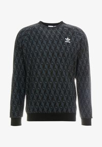 adidas Originals - MONO CREW - Sweatshirt - black - 4