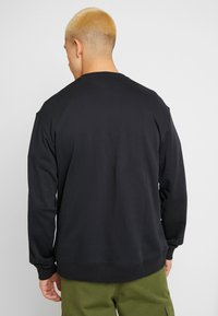 adidas Originals - PROJECT-3 LONG SLEEVE PULLOVER - Collegepaita - black - 2