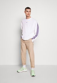 adidas Originals - SPORT COLLECTION LONG SLEEVE PULLOVER - Sweatshirt - white - 1