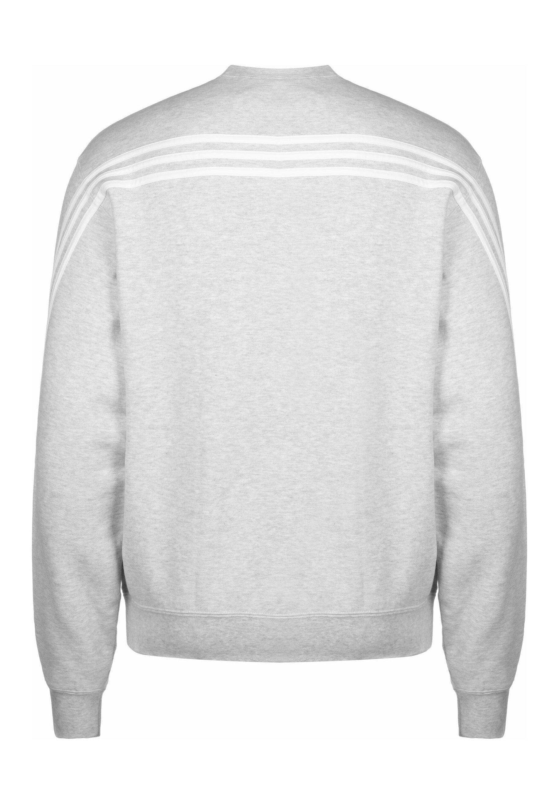 Adidas Originals Sport Collection Long Sleeve Pullover - Sweatshirt Grey/white