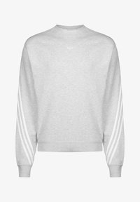 adidas Originals - SPORT COLLECTION LONG SLEEVE PULLOVER - Felpa - grey/white - 0