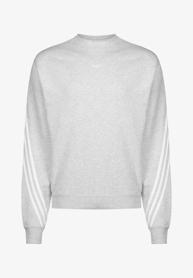SPORT COLLECTION LONG SLEEVE PULLOVER - Felpa - grey/white