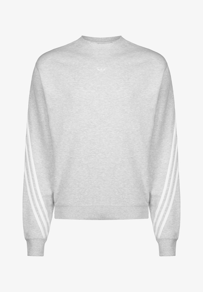adidas Originals - SPORT COLLECTION LONG SLEEVE PULLOVER - Felpa - grey/white