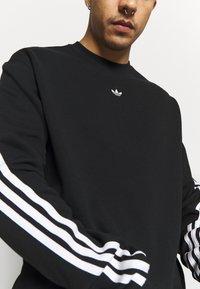 adidas Originals - SPORT COLLECTION LONG SLEEVE PULLOVER - Sudadera - black/white - 3