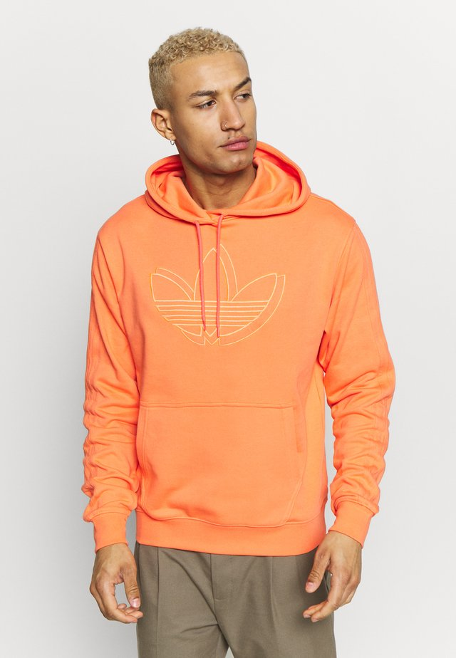 SPORT COLLECTION HODDIE SWEAT - Felpa con cappuccio - coral