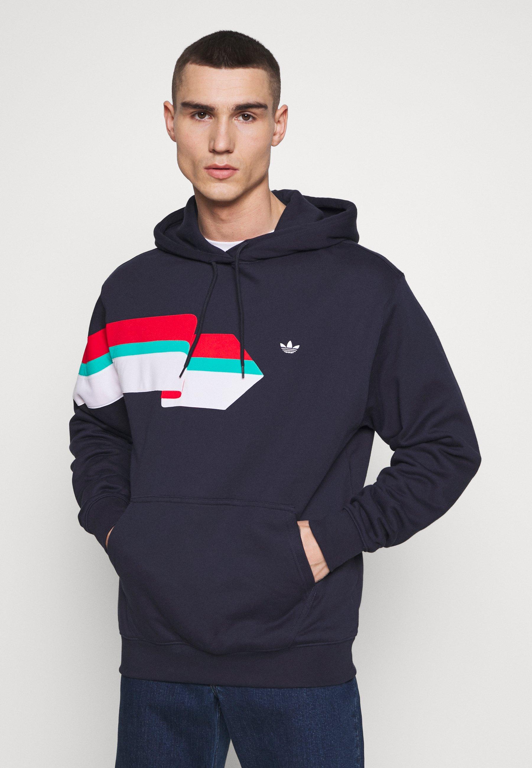 adidas Originals Bluza z kapturem - legink/white