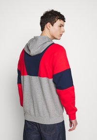adidas Originals - HOODY - Bluza z kapturem - red/mottled grey/dark blue - 2