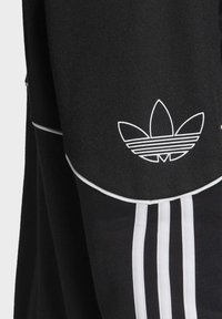 adidas Originals - OUTLINE HOODIE - Felpa aperta - black - 6