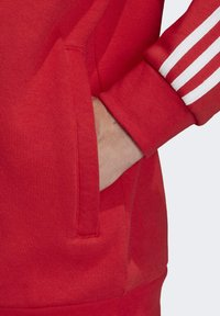 adidas Originals - STRIPES HOODIE - Huppari - red - 5