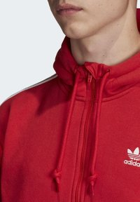 adidas Originals - STRIPES HOODIE - Huppari - red - 3