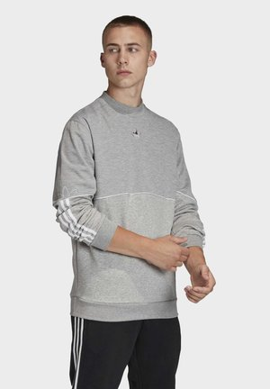 OUTLINE CREWNECK SWEATSHIRT - Felpa - grey