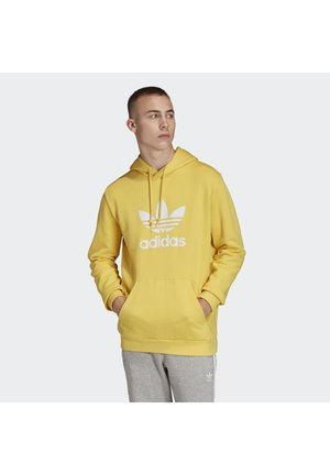 TREFOIL HOODIE - Felpa con cappuccio - yellow