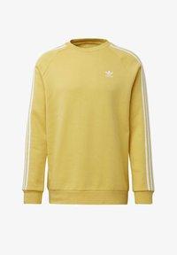 adidas Originals - 3-STRIPES CREWNECK SWEATSHIRT - Collegepaita - yellow - 7