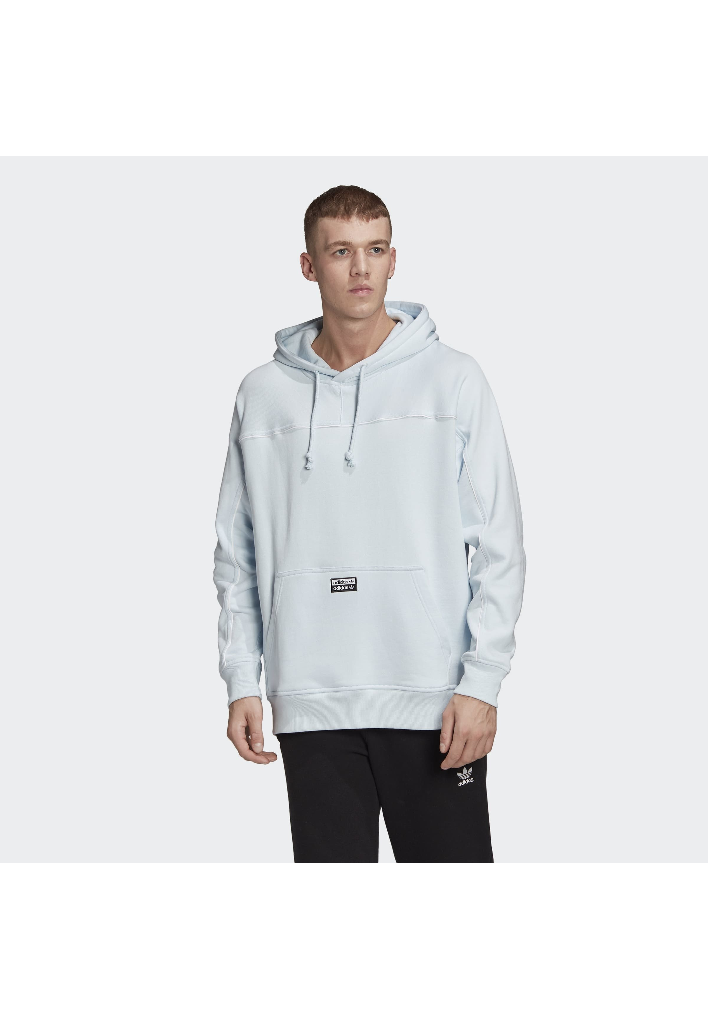 adidas Originals R.Y.V. HOODIE Sweat à capuche blue